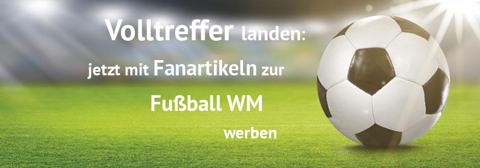 Werbeartikel für die Fußball WM